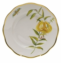 "Herend American Wildflower Salad Plate  7.5""D - Meadow Lily"