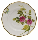 "Herend American Wildflower Salad Plate  7.5""D - Passion Flower"
