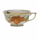 Herend American Wildflower Tea Cup  (8 Oz) - California Poppy