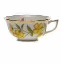 Herend American Wildflower Tea Cup  (8 Oz) - Evening Primrose