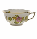 Herend American Wildflower Tea Cup  (8 Oz) - Passion Flower