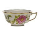 Herend American Wildflower Tea Cup  (8 Oz) - Prairie Rose