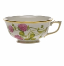 Herend American Wildflower Tea Cup  (8 Oz) - Red Clover