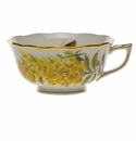 Herend American Wildflower Tea Cup  (8 Oz) - Tall Goldenrod