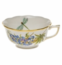 Herend American Wildflower Tea Cup  (8 Oz) - Texas Bluebonnet