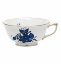 Herend Chinese Bouquet Black Sapphire Tea Cup (8 Oz)