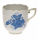 Herend Chinese Bouquet Blue After Dinner Cup (3 Oz)