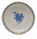 """Herend Chinese Bouquet Blue Canton Saucer  5.5""""D"""