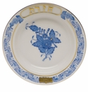 Herend Chinese Bouquet Blue Small Seder Bowl Chazeret 3.75