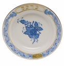 """Herend Chinese Bouquet Blue Small Seder Bowl Karpos 3.75""""D"""