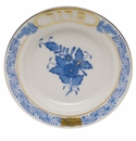 """Herend Chinese Bouquet Blue Small Seder Bowl Maror 3.75""""D"""