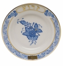 """Herend Chinese Bouquet Blue Small Seder Bowl Zeroa 3.75""""D"""