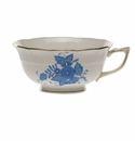 Herend Chinese Bouquet Blue Tea Cup  (8 Oz)