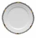 "Herend Chinese Bouquet Garland Black Service Plate 11""D"