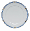"Herend Chinese Bouquet Garland Blue Service Plate 11""D"
