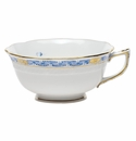 Herend Chinese Bouquet Garland Blue Tea Cup (8 Oz)