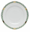 "Herend Chinese Bouquet Garland Green Salad Plate 7.5""D"