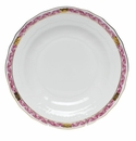 "Herend Chinese Bouquet Garland Raspberry Dessert Plate 8.25""D"
