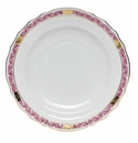 "Herend Chinese Bouquet Garland Raspberry Salad Plate 7.5""D"