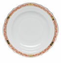 "Herend Chinese Bouquet Garland Rust Salad Plate 7.5""D"