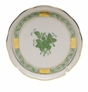"""Herend Chinese Bouquet Green Coaster 4""""D"""