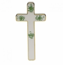 """Herend Chinese Bouquet Green Cross 4.75""""L X 2.25""""W"""