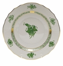 """Herend Chinese Bouquet Green Salad Plate  7.5""""D"""