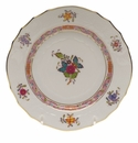 """Herend Chinese Bouquet Multicolor Bread & Butter Plate  6""""D"""