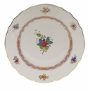 """Herend Chinese Bouquet Multicolor Dinner Plate  10.5""""D"""