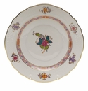 """Herend Chinese Bouquet Multicolor Salad Plate  7.5""""D"""