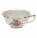 Herend Chinese Bouquet Multicolor Tea Cup  (8 Oz)