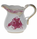 """Herend Chinese Bouquet Raspberry Creamer  (1.5 Oz) 2""""H"""