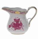 """Herend Chinese Bouquet Raspberry Creamer  (6 Oz) 3.5""""H"""