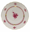 """Herend Chinese Bouquet Raspberry Dinner Plate  10.5""""D"""