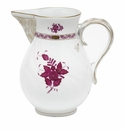 """Herend Chinese Bouquet Raspberry Pitcher (60 Oz) 7.75""""H"""