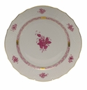 """Herend Chinese Bouquet Raspberry Service Plate  11""""D"""