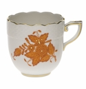 Herend Chinese Bouquet Rust After Dinner Cup (3 Oz)
