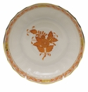 """Herend Chinese Bouquet Rust Canton Saucer  5.5""""D"""
