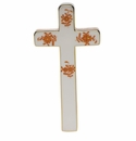 """Herend Chinese Bouquet Rust Cross 4.75""""L X 2.25""""W"""