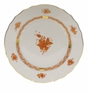"""Herend Chinese Bouquet Rust Dinner Plate  10.5""""D"""