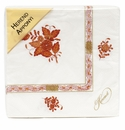 Herend Chinese Bouquet Rust Paper Napkins Pack Of 20 Rust