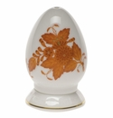 Herend Chinese Bouquet Rust Pepper Shaker Single Hole  2.5