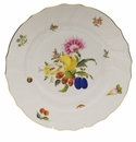 "Herend Fruits & Flowers Dinner Plate  10.5""D"