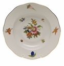 "Herend Fruits & Flowers Rim Soup Plate  8""D"