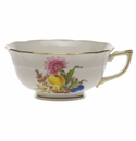 Herend Fruits & Flowers Tea Cup  (8 Oz)