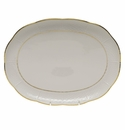 "Herend Golden Edge Tray  10.5""L X 8""W"