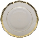 "Herend Golden Laurel Bread & Butter Plate  6""D"