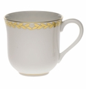 "Herend Golden Laurel Mug  (11 Oz) 3.5""H"