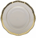 "Herend Golden Laurel Salad Plate  7.5""D"