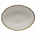 """Herend Gwendolyn Oval Vegetable Dish  10""""L X 8""""W"""